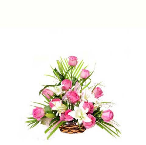 Admirable Grace Basket | Flower shop in Karachi