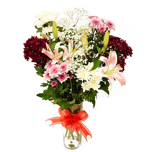 Heaven on Earth Arrangement | Send Anniversary Flowers to Pakistan