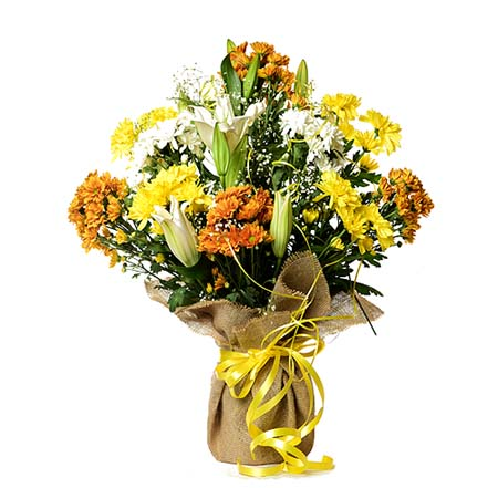 Sun Shine Classic Bouquet | Send Get Well Soon Flowers to Pakistan
