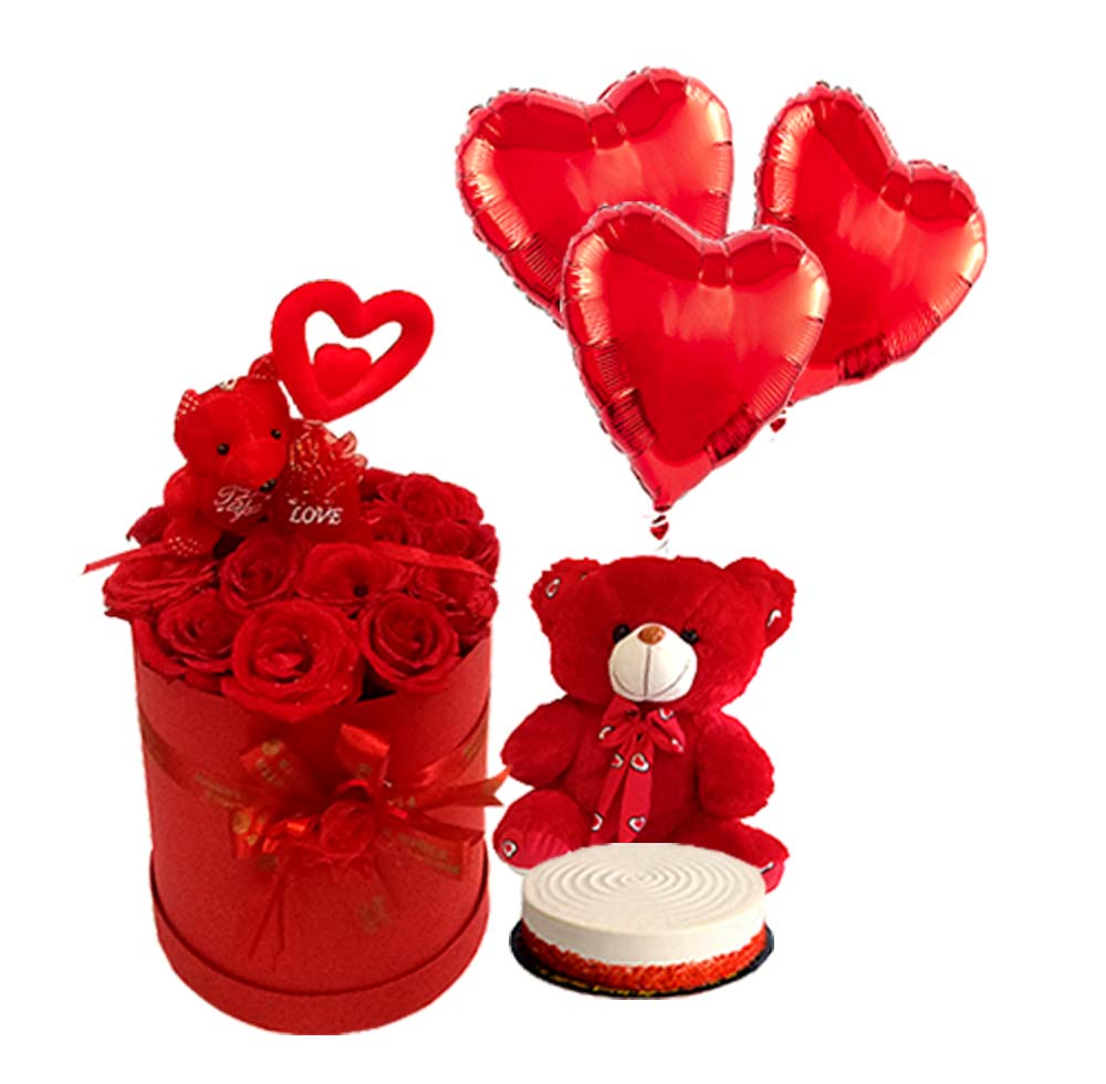 Valentine's Combos | Send Birthday Flowers Gifts to Pakistan