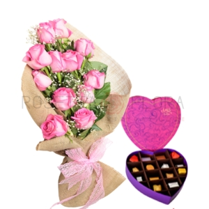 Pink Reflection | Send Valentine Flowers to Pakistan