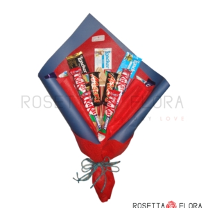 Chocolates and Wafer Bouquet | Send Valentine Flowers to Pakistan