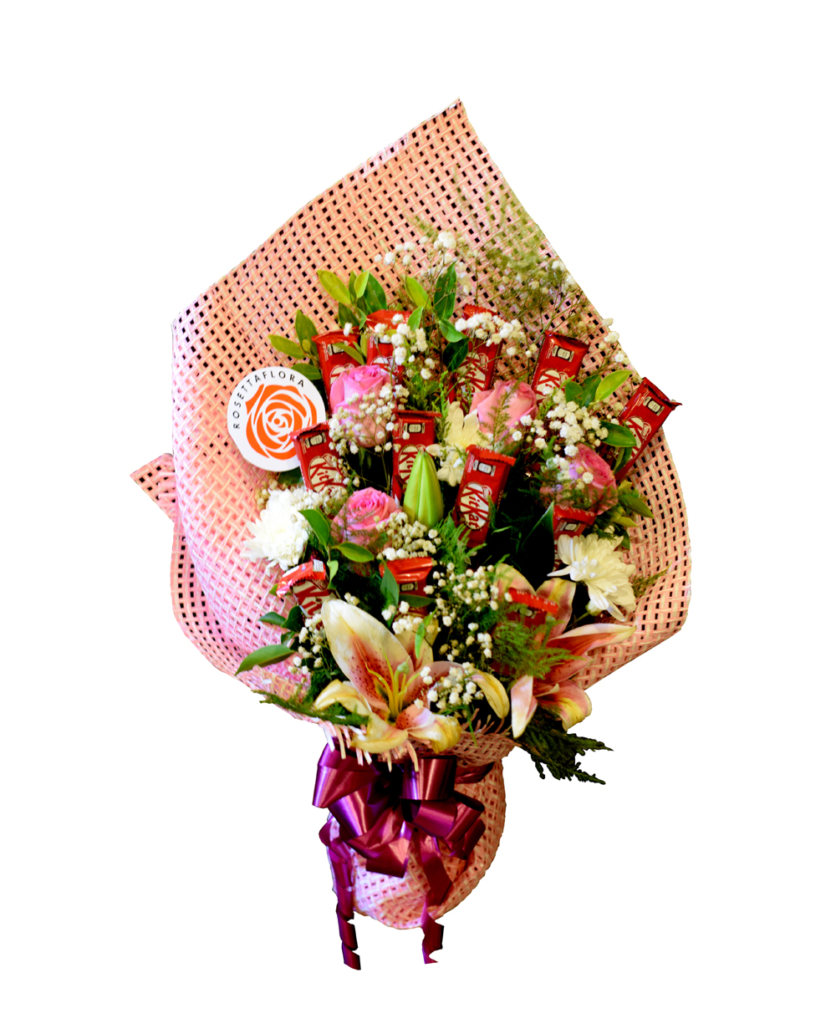 Sweet Citrus Bouquet | Flower shop in Karachi