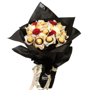 Roses Rocher Bouquet | Send Mothers Day Flowers to Pakistan