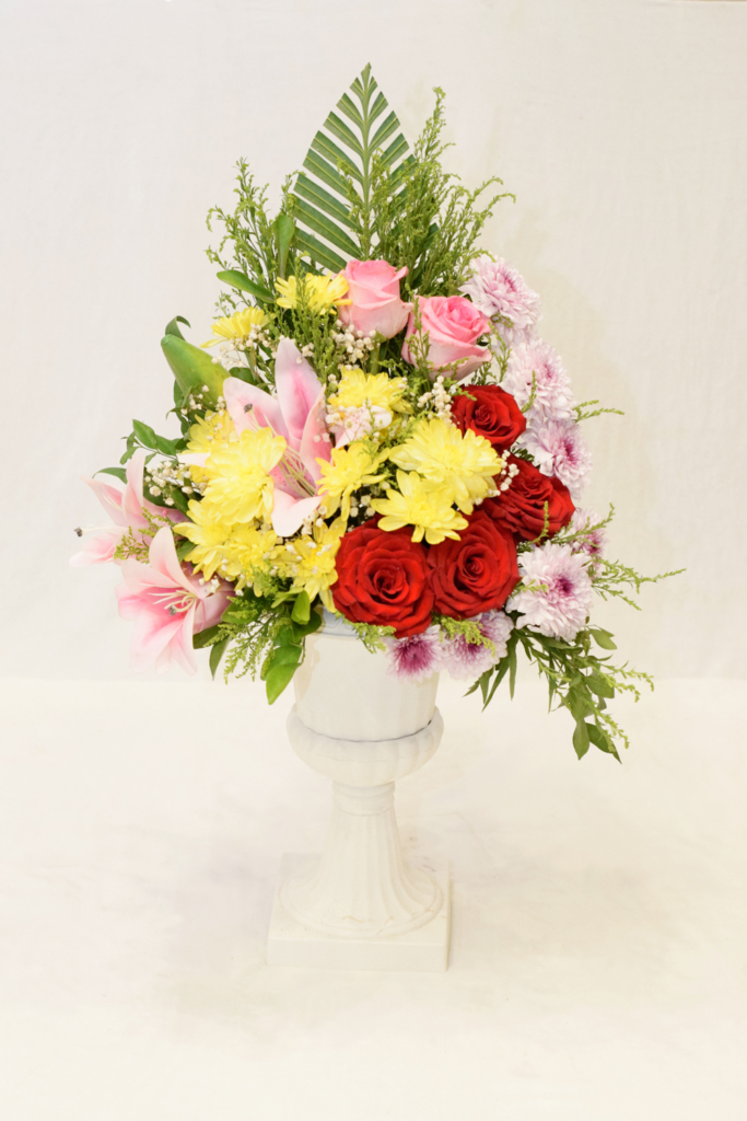 Floral Embrace Urn | Flower shop in Karachi Pakistan