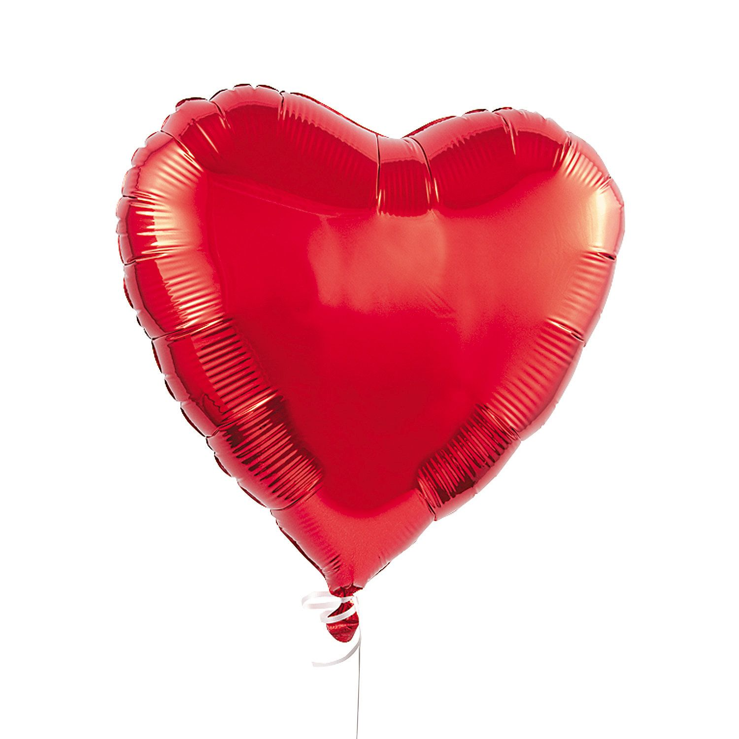 Red Heart Inflated Foil Balloon | Flower shop in Karachi