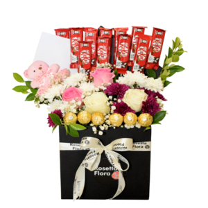 Chocolates Floral Box | Flower shop in Karachi