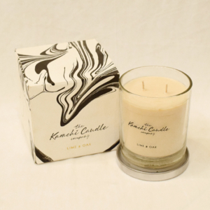 Lime & Oak Scented Candle | Flower shop in Karachi