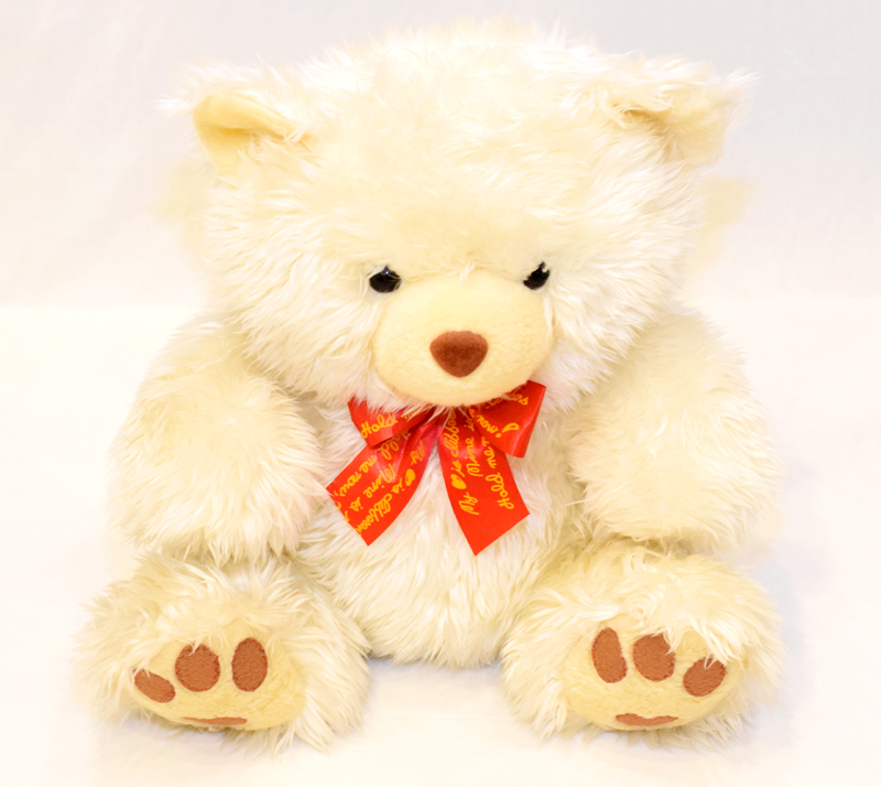 Light Beige Teddy Bear 18 inches | Flower shop in Karachi