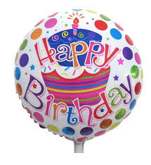 Happy Birthday Inflated Foil Balloon | Flower shop in Karachi