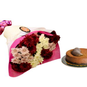Chocolate Heaven Cake & Pretty Bouquet | Flower shop in Karachi