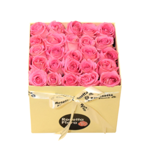 Pink Roses Box | Flower shop in Karachi