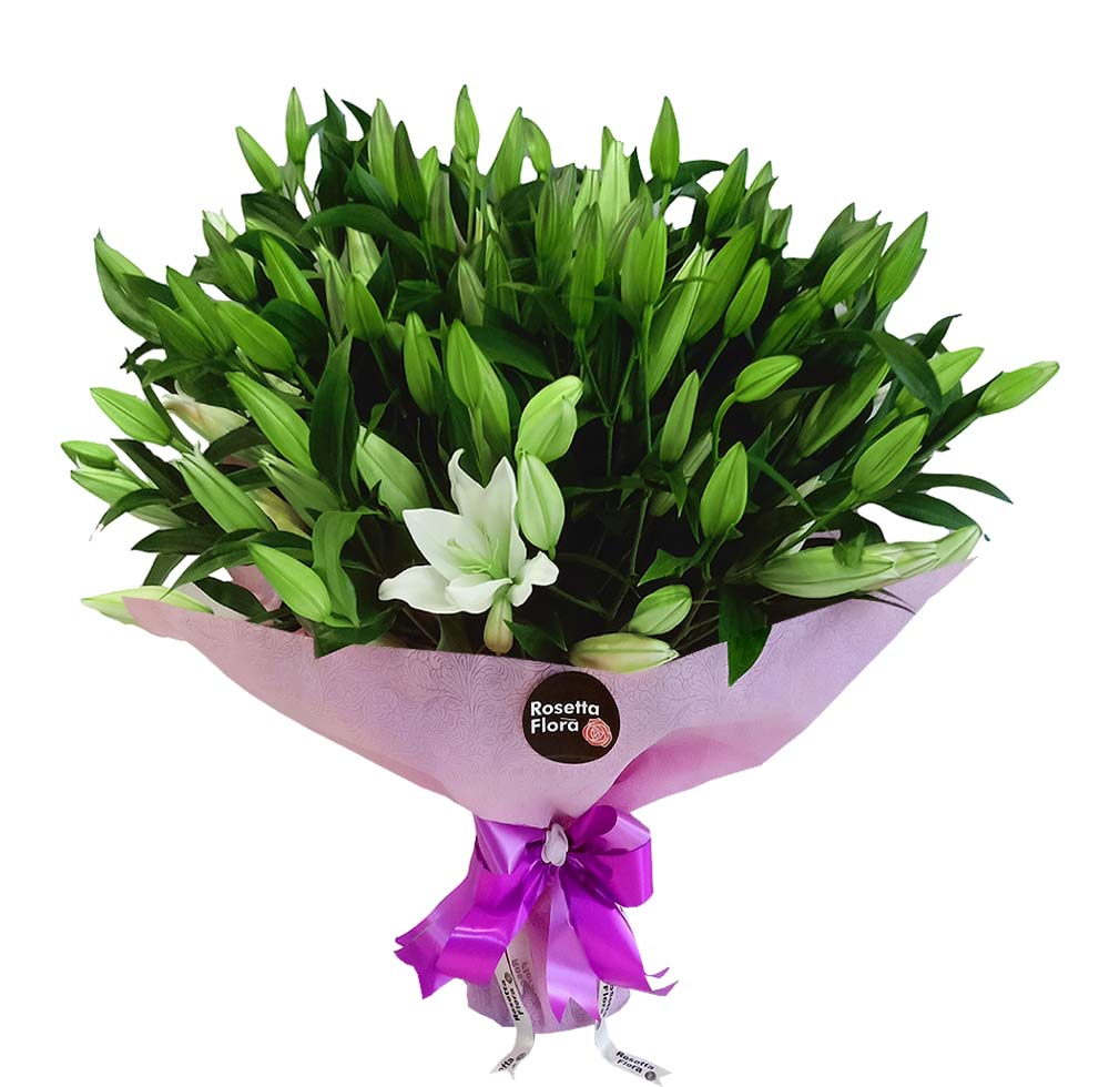 3 Dozen Lilies Bouquet | Flower shop in Karachi