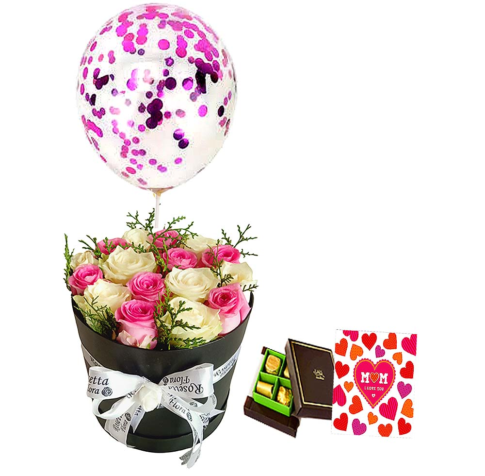 Mother's Happiness | Send Birthday Flowers Gifts to Pakistan
