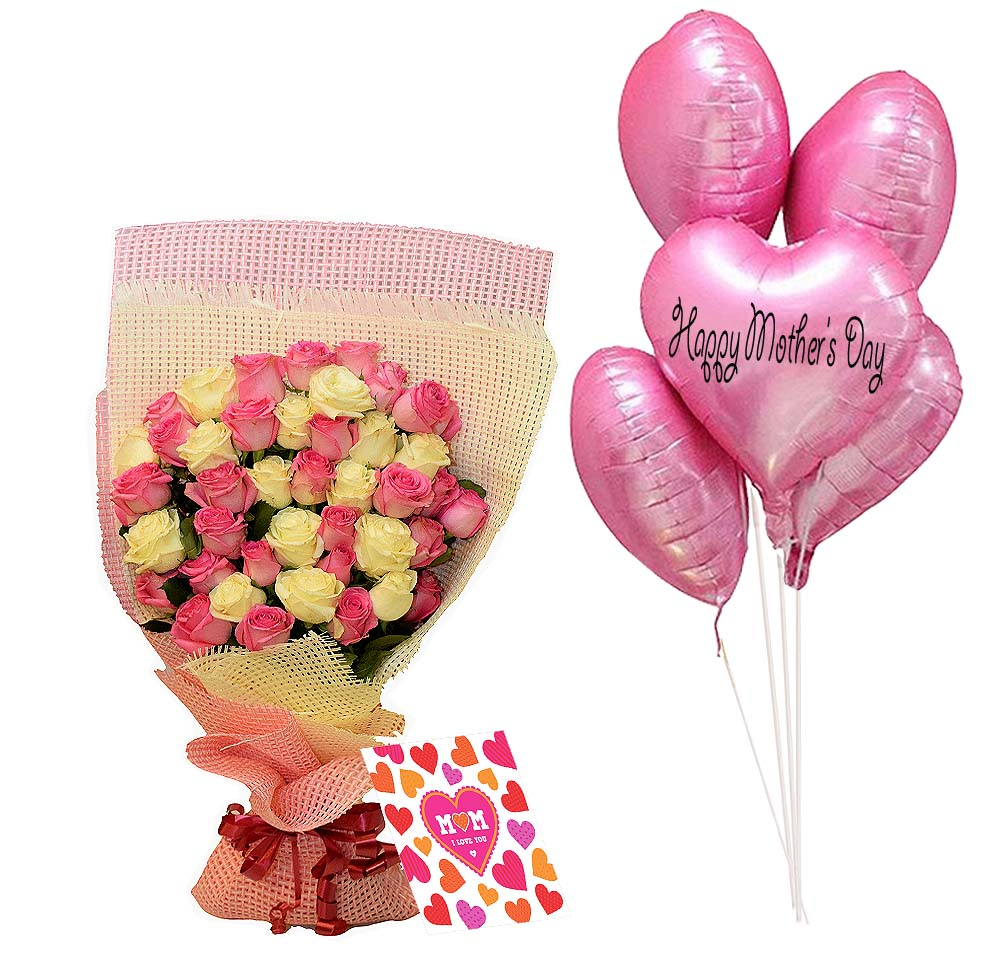 Mother Smile | Send Birthday Flowers Gifts to Pakistan