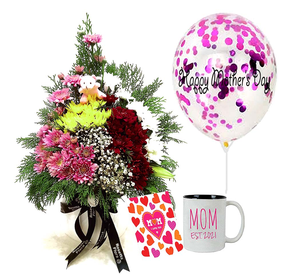 Caring Mom | Send Birthday Flowers Gifts to Pakistan