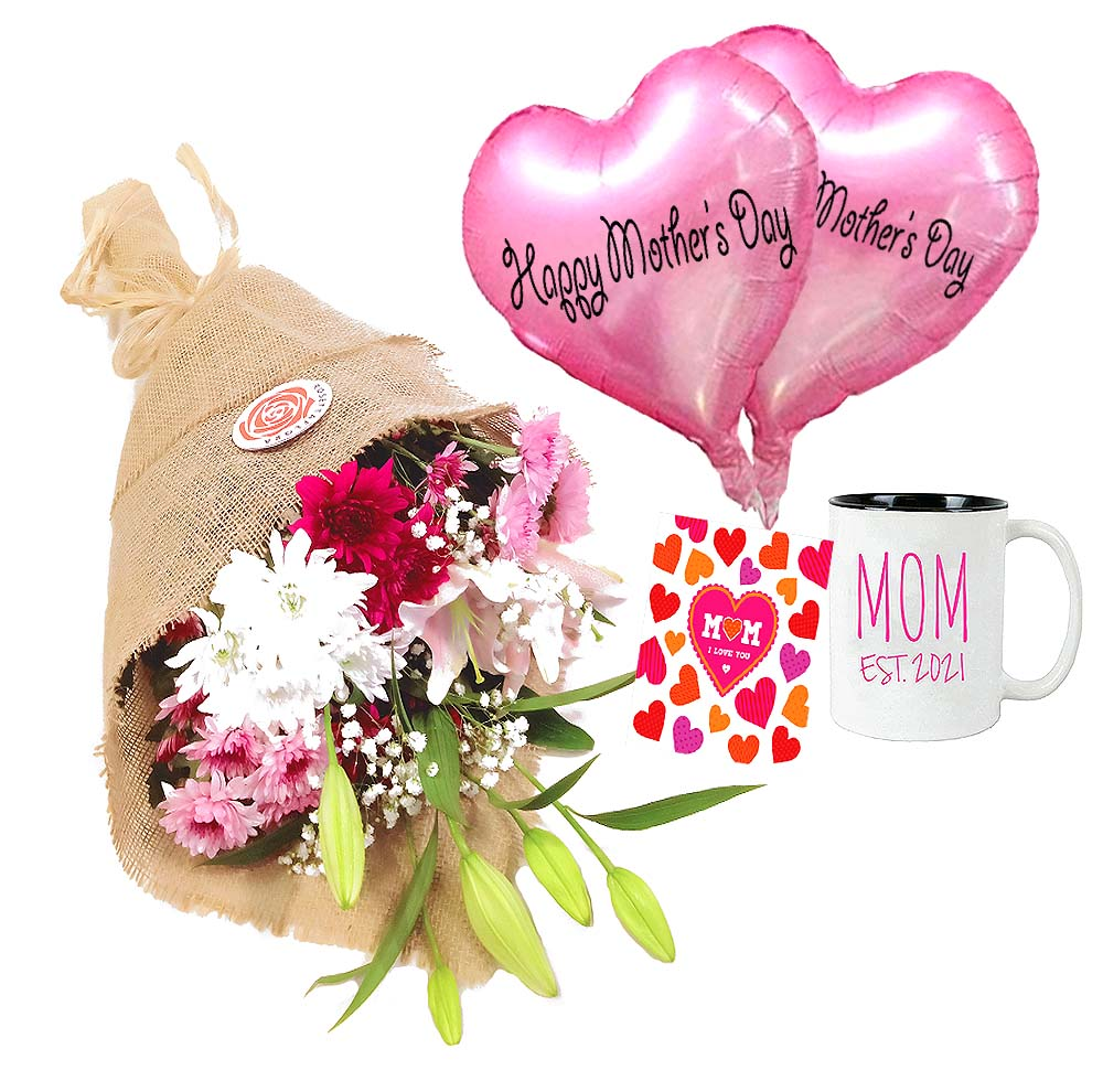 Pretty Mom | Send Birthday Flowers Gifts to Pakistan