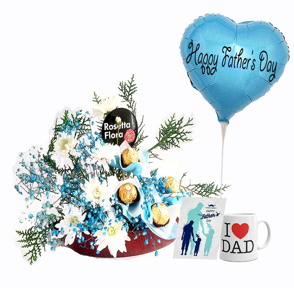 Boat Arrangement | Send Father's Day Flowers to Pakistan