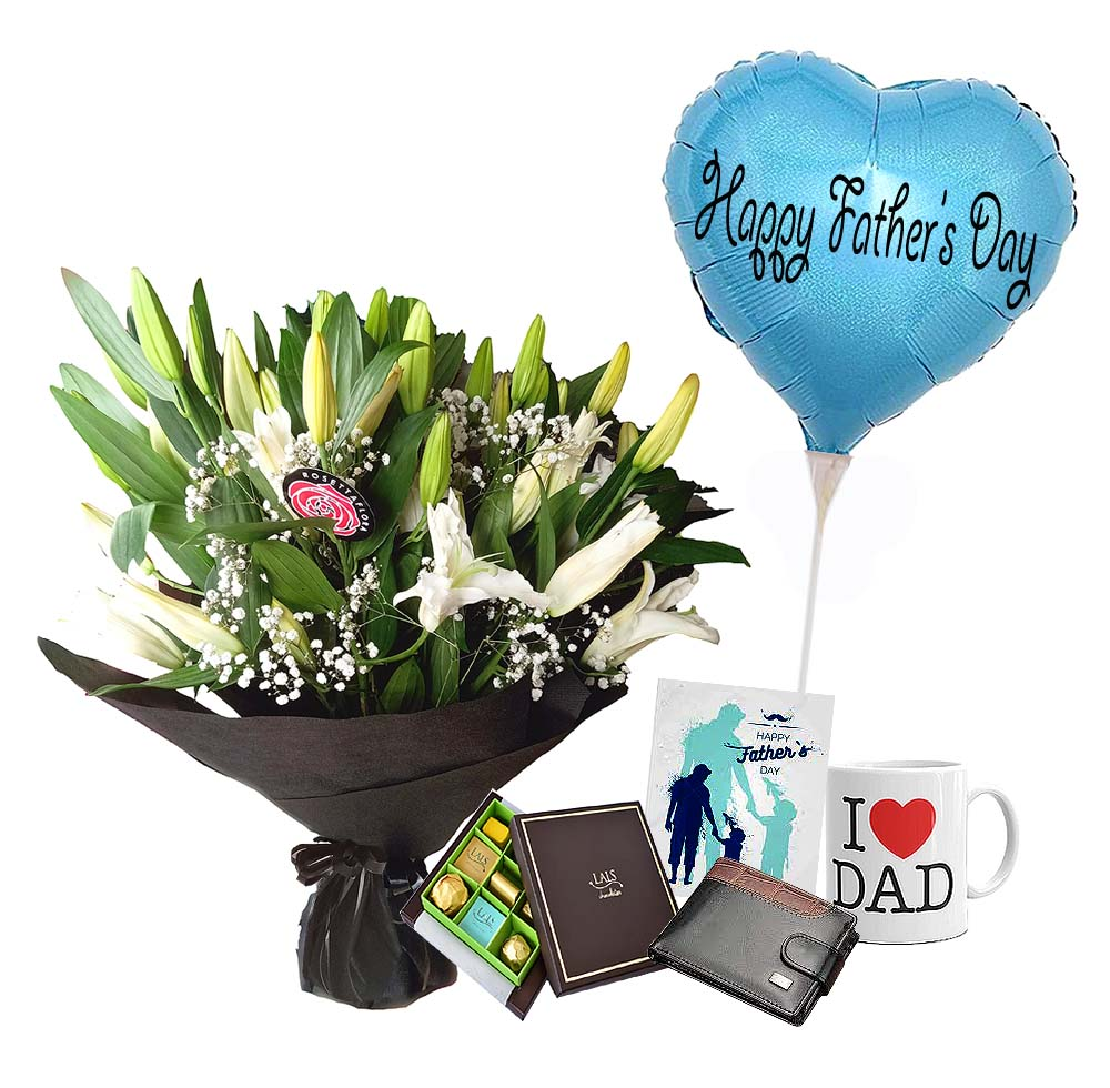 Love You Dad | Send Father's Day Flowers to Pakistan